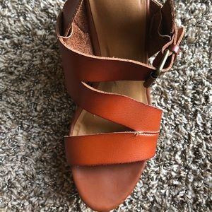 Mossimo cork wedge heels